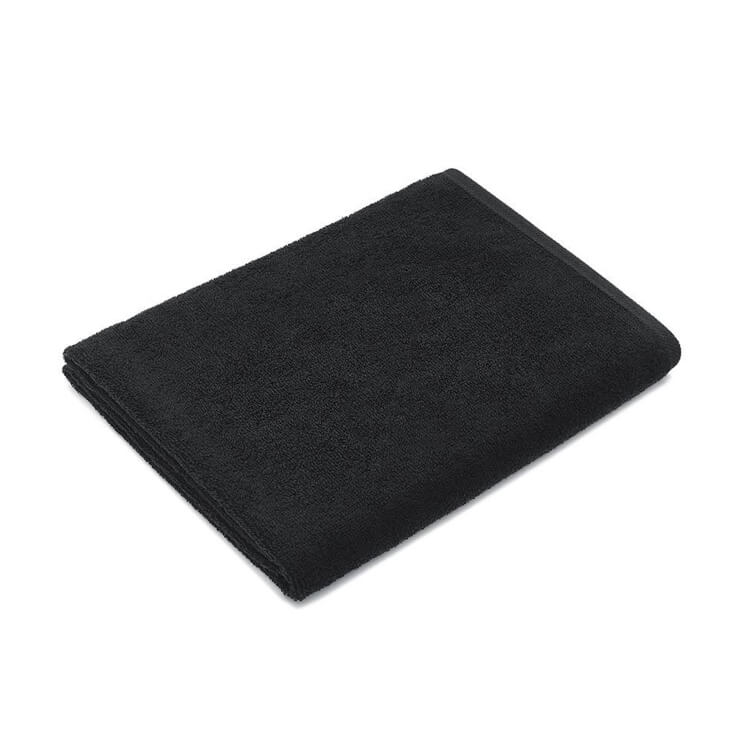 Mumla Handtücher schwarz Frottee Baumwolle