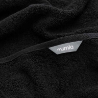 Frottee Handtücher schwarz von Mumla Baumwolle