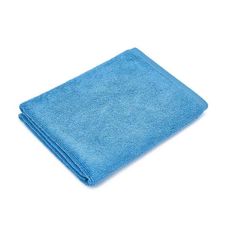 Mumla Handtücher blau Frottee Baumwolle