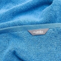 Frottee Handtücher blau von Mumla Baumwolle
