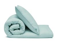 mintgrüne Baumwoll-Kinderbettwäsche in Uni Farben