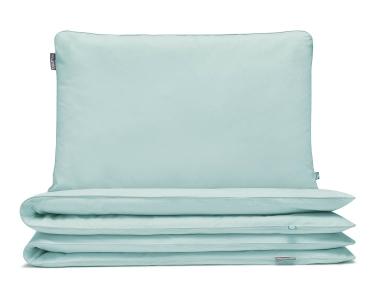 Kinderbettwäsche mint uni aus hochwertiger Baumwolle