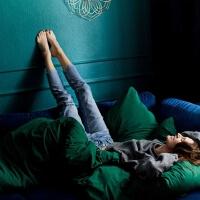 Smaragdgrüne Bettwäsceh von Mumla