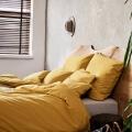 Senfgelbe Bettwäsche Baumwolle von Mumla