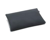Bettwäsche aus Baumwolle hochwertig in dunkelgrau uni