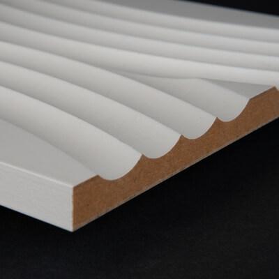 Tischdecke im Moos Design im Detail mit Igel