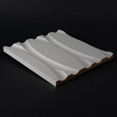 Spannbettlaken im Moos Design im Bett 002