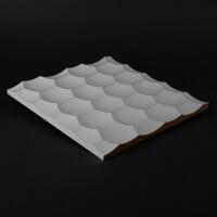 3D Wandpaneel 054 aus MDF Holz