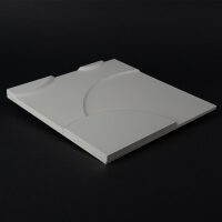 3D Wandpaneel 066 aus MDF Holz