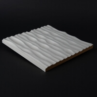 3D Wandpaneel 069 aus MDF Holz