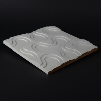 3D Wandpaneel 080 aus MDF Holz