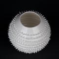 Porzellan Mate Tee Becher Spiky weiß von Kina Ceramics