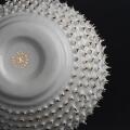 Kina Ceramics Yerba Mate Tee Becher Spiky auf edlem Porzellan und echtem Gold Kalebasse