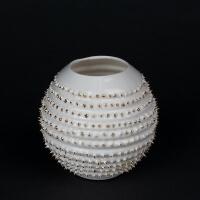 Kina Ceramics Yerba Mate Tee Becher Spiky auf edlem Porzellan und echtem Gold