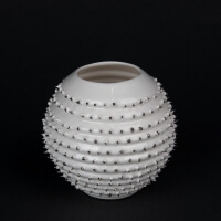 Kina Ceramics Yerba Mate Tee Becher Spiky auf edlem Porzellan und echtem Platin