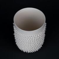 Porzellan Teebecher Spiky von Kina Ceramics