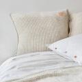Jersey Bettwäsche weiß Holzknöpfe moyha Dream
