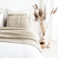 moyha Take a Rest Decke grob beige