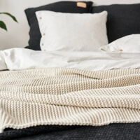 moyha Warm Feeling Strickdecke beige