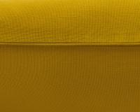 Baumwoll-Kinderbettwäsche in senfgelb uni Farbe