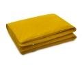 Baumwoll Kinderbettbezüge in gelb uni Farbe