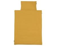 Kinderbettwäsche gelb in 90x120 cm und 100x135 cm
