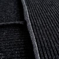 moyha Wohndecke Premium Wool dunkelgrau