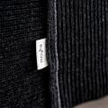 moyha Couchdecke Premium Wool dunkelgrau