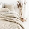 moyha Woolly Strick Bettüberwurf beige