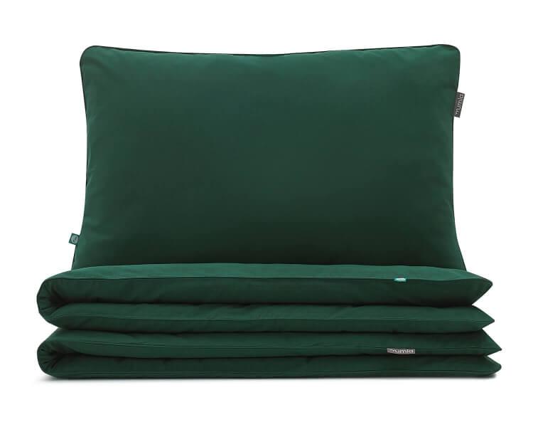 Bettwäsche Grün Uni Farbe Hochwertige Baumwolle