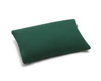 Bettwäsche aus Baumwolle hochwertig in dunkelgrün uni