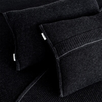 moyha Zierkissen Premium wool dunkelgrau