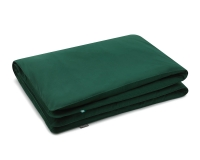 Baumwoll Kinderbettbezüge in grün uni Farbe