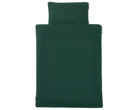 Kinderbettwäsche grün in 90x120 cm und 100x135 cm
