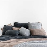 moyha Soft weave großes Strick Kissen 60x60