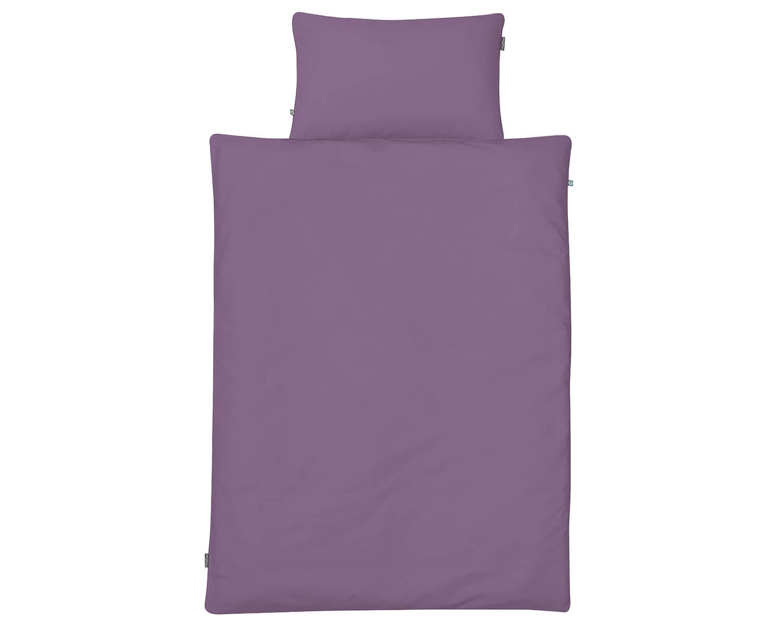 bettw sche lila uni farbe hochwertige baumwolle. Black Bedroom Furniture Sets. Home Design Ideas