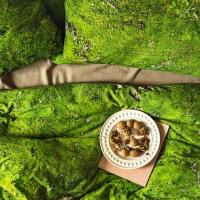 Foonka grüne Bettwäsche Moos Hayka