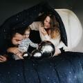 Hayka Sternen Kinderbettwäsche von Foonka