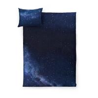 Dunkelblaue Sternenhimmel Bettwäsche von HAYKA