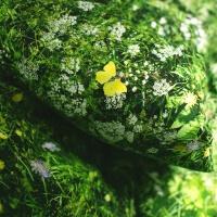 Greenery Bettwäsche Alpenwiese Hayka von Foonka