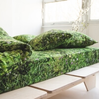 Foonka Alpen Wiese Spannbettlaken Hayka Design