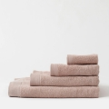 HOP Design Handtuch PURE Baumwolle altrosa