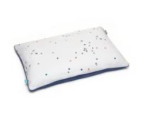 Baumwoll Kinderbettbezüge Punkte dunkelblau Konfetti