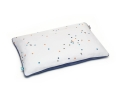 Baumwoll Bettbezüge Punkte dunkelblau Konfetti