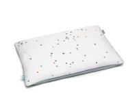 Baumwoll Kinderbettbezüge Punkte grau Konfetti