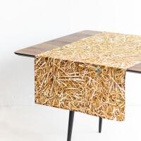 Foonka Stroh Tischläufer