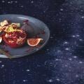 Nordhimmel Tischdecke von Foonka