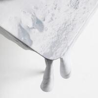 Tischdecke Schnee Design Foonka