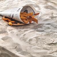 Sandstrand Tischdecke Foonka