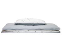 Hochwertige Bettwäsche Punkte grau günstig online kaufen